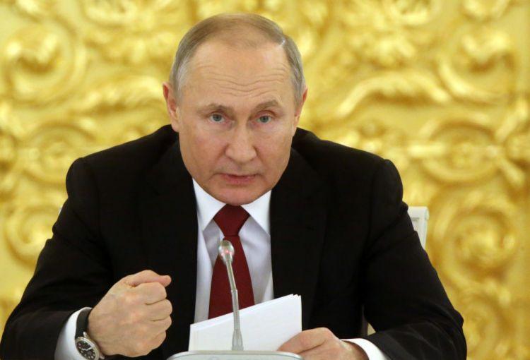 'No same-sex parents as long as I'm president' - Putin