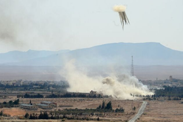 Russia's Su-34s destroyed three Turkish multiple launch rocket system