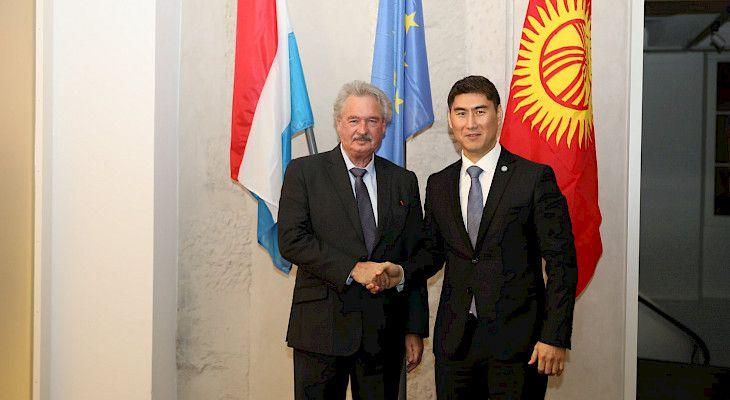 Kırgızistan ve Lüksemburg Dışişleri Bakanları ikili işbirliğini görüştü