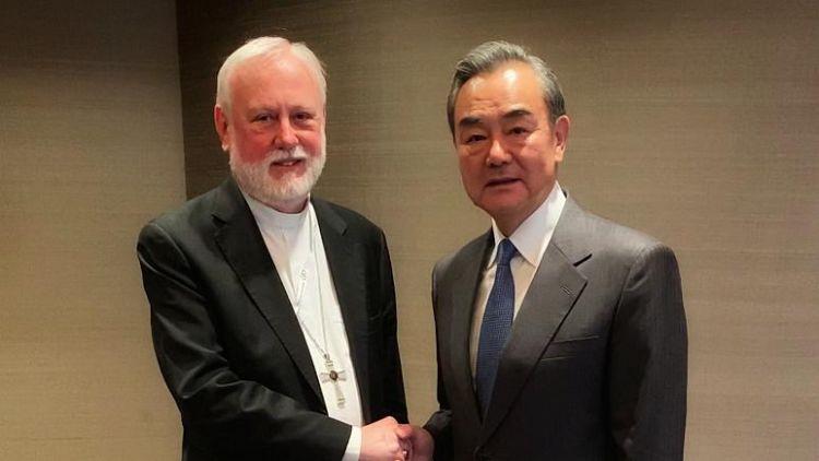 Çin ve Vatikan arasında ilk üst düzey temas: Dışişleri bakanları buluştu