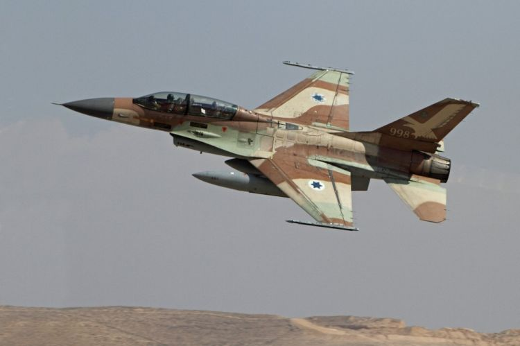 Russian Su-35s intercepted two Israeli F-16 over Damascus