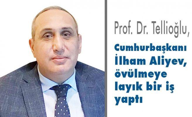 İlham Aliyev övülmeye layık bir iş yaptı - Prof.Dr.Tellioğlu