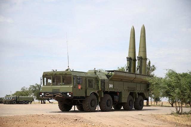 Russia tested Iskander ballistic missile-PHOTOS - VIDEO