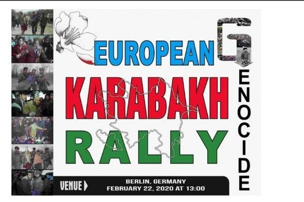 القيام بمسيرة قاره باغ لعموم أوروبا في ألمانيا