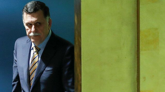 Libya's Serraj says talk about resuming peace negotiations 'overtaken by events