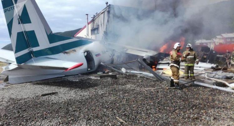 """هناك جرحى بعد هبوط اضطراري لطائرة من طراز """"آن 2"""" في ماغادان الروسية"""