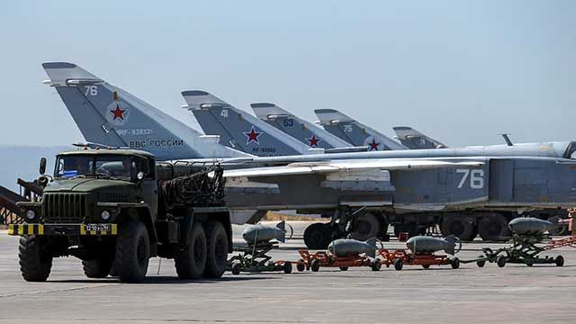 Unknown fighter jets tried to attack the Russian air base in Syria