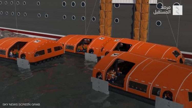 نظام إنقاذ عائم للسفن السياحية l قبل 50 دقيقة - الفيديو