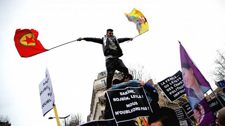 Fransa'da PKK'ya bağış toplayan 4 kişiye 'terörizmin finansmanı' suçundan dava