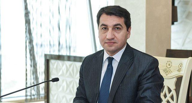 """""""Azərbaycan Prezidentinin İtaliyaya dövlət səfərini tarixi səfər adlandıra bilərik"""" - Hikmət Hacıyev"""