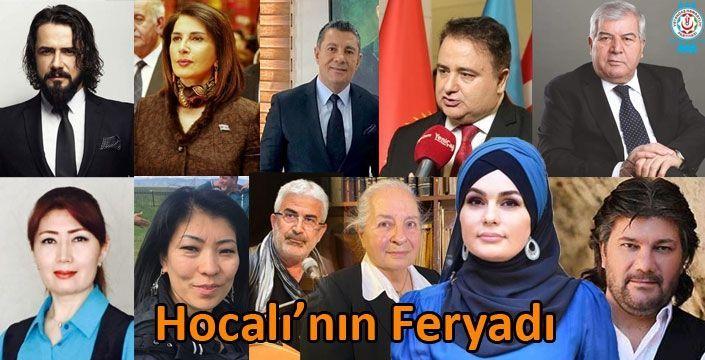 """Türk Dünyasının Sanatçıları, Şairleri Aydınları """"Hocalı"""" İçin Okudu - VİDEO"""