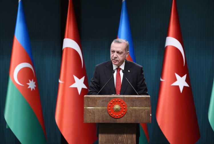 Turkish President Erdogan to visit Azerbaijan today.