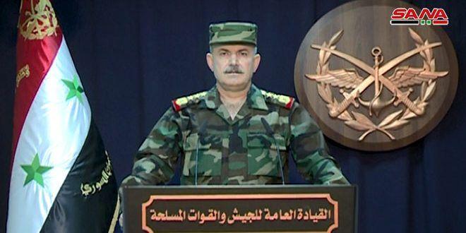 القيادة العامة للجيش: استعادة السيطرة على العديد من البلدات والقرى والتلال الحاكمة بريف إدلب الجنوبي بعد تكبيد الإرهابيين خسائر فادحة - الفيديو