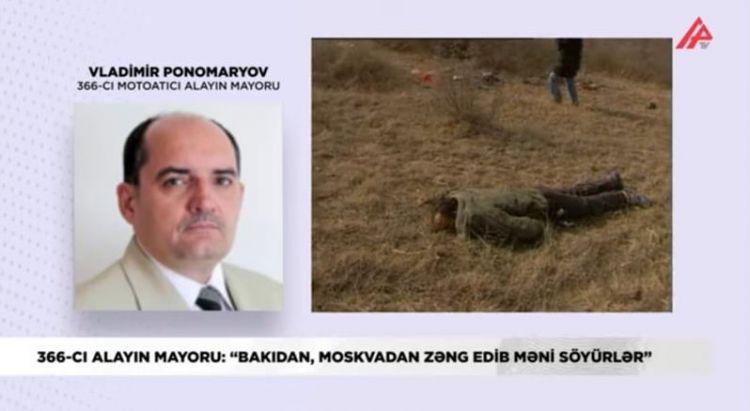 """""""Bakıdan, Moskvadan zəng edib məni söyürlər"""" - 366-cı alayın mayoru - MÜSAHİBƏ - VİDEO"""