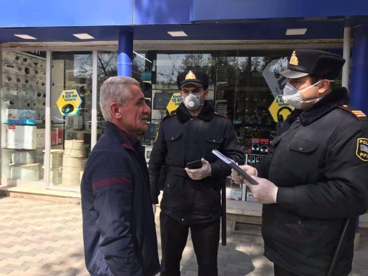 В Баку полиция штрафует на 200 манат за нарушение правил ЧП