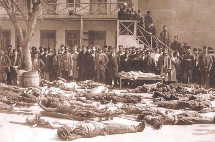 Убийства и грабежи, совершенные в 1918 году в Азербайджане, осуществлялись с особой жестокостью - ФОТО
