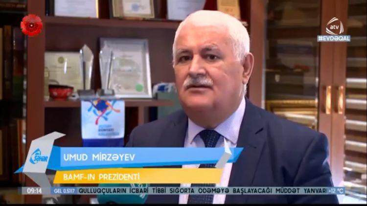 """Umut Mirzayev - """"Ermeni ayrılıkçılığı, insanlık için koronavirüsten daha tehlikeli bir salgındır"""" - VİDEO"""