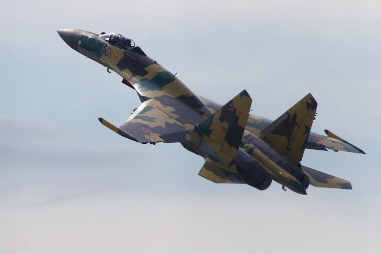 The Russian Su-35 fighter jet is armed with unique hypersonic weapons