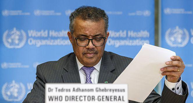 DSÖ: 'Küresel enfeksiyon yayılımından derin endişe duyuyorum'