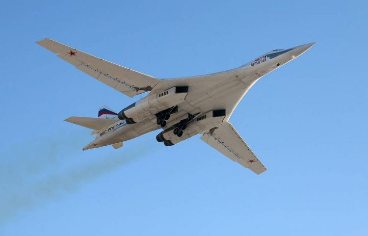Russian long-range supersonic bombers perform tasks in the Pacific
