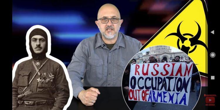 """Rusiyalı politoloq: - """"Ermənistan varlığına görə borclu olduğu Rusiyadan üzr istəməlidir"""" - VİDEO"""