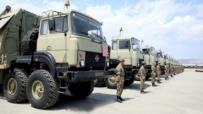 Военные учения в Азербайджане показали предел - очерченный в newcaucasus - ВИДЕО