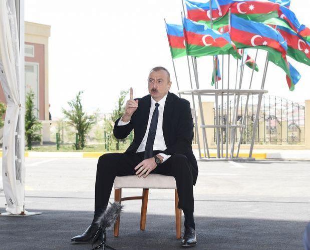 Президент И.Алиев объяснил все, что будет с Карабахом