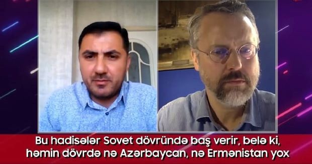 The film about the Karabakh conflict discussed with British expert - VIDEO