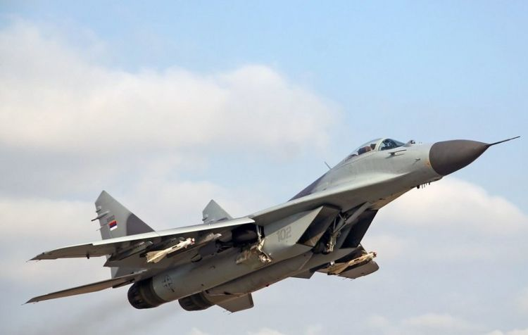 Syrian military receives Russian advanced MiG-29 fighter jets