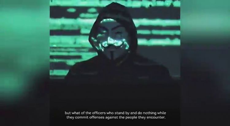 'World is starting to wake up' - Anonymous 'declare war on Minneapolis Police' - VIDEO