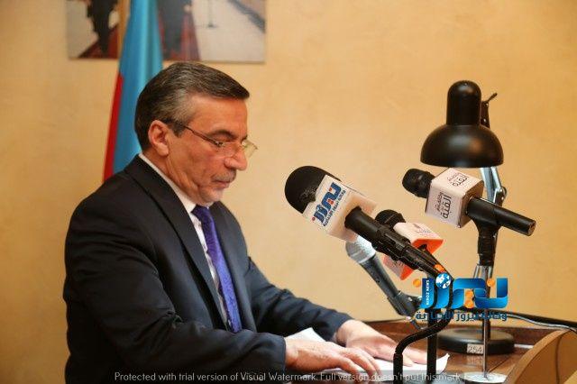 السفير الأذربيجاني راسم رضاييف يرعى احتفالا بمناسبة ذكرى مذبحة خوجالي... صور