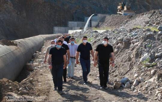 İşğal altında olan Zəngilandan Ermənistana 3-cü yol çəkildi ... - FOTOLAR