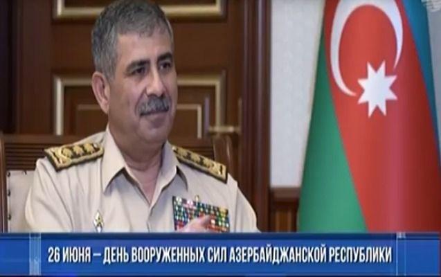 Закир Гасанов: - У нас есть все возможности для разгрома противника - ВИДЕО