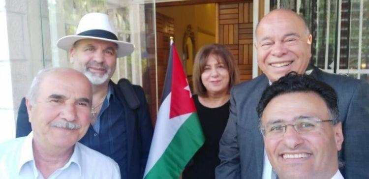 حوار ثقافي في صالون د. سهام الخفش لدراسة جائحة الكورونا وآثارها على الأردن - الصور الفوتوغرافية