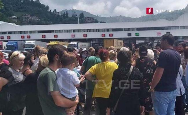 Власти Грузии повысили пенсии, грузины требуют открытия турецкой границы