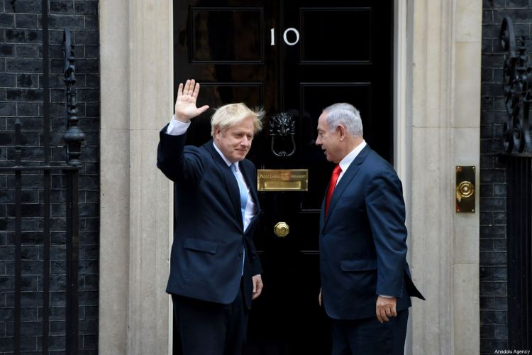 Britain does not support Israel's annexation of West Bank - Boris Johnson