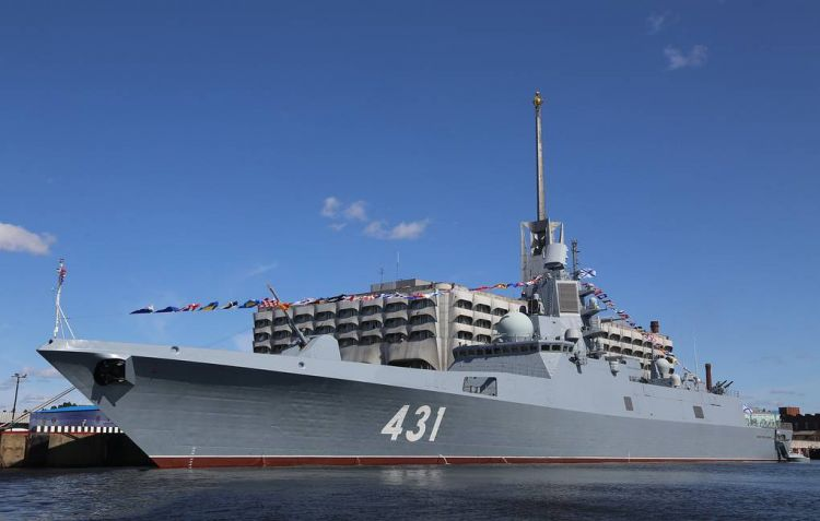 Latest frigate to enter service with Russian Navy in July