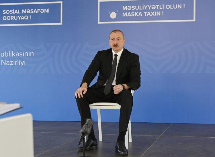 'Azerbaijan not to change position on Nagorno-Karabakh conflict' - Ilham Aliyev