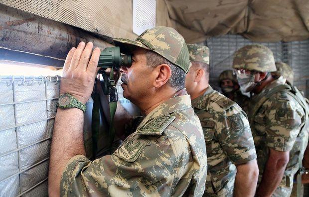 Azərbaycanlı generallar ön xətdə: Tapşırıqlar verildi - FOTO