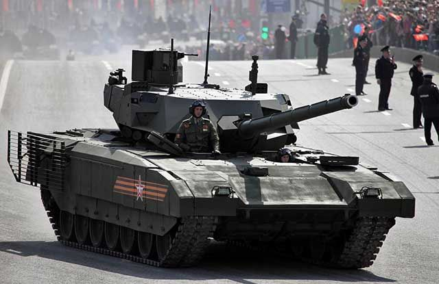 Russian T-14 Armata tank could be transformed into nuclear weapon - US