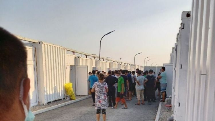 People riot in quarantine center in Uzbekistan