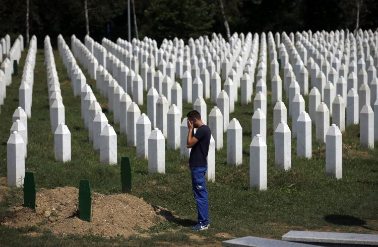 The world remember 11 July the anniversary of Srebrenica genocide