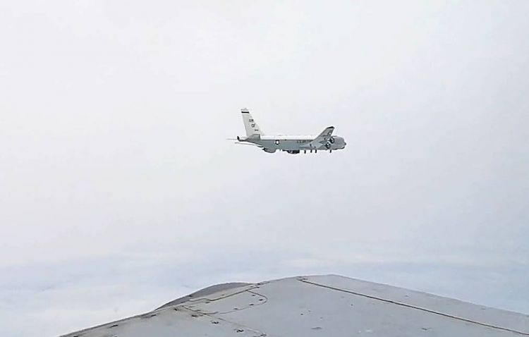 Russian fighter jets intercept US spy plane over Sea of Japan