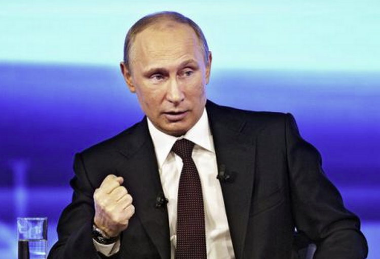 Putin says Russia pursuing 'iron fist in velvet glove' policy on global arena