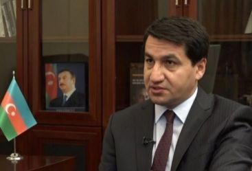 حكمت حاجييف: استفزاز أرمينيا في الحدود دليل آخر على أنها غير مهتمة بحل النزاع من خلال المفاوضات