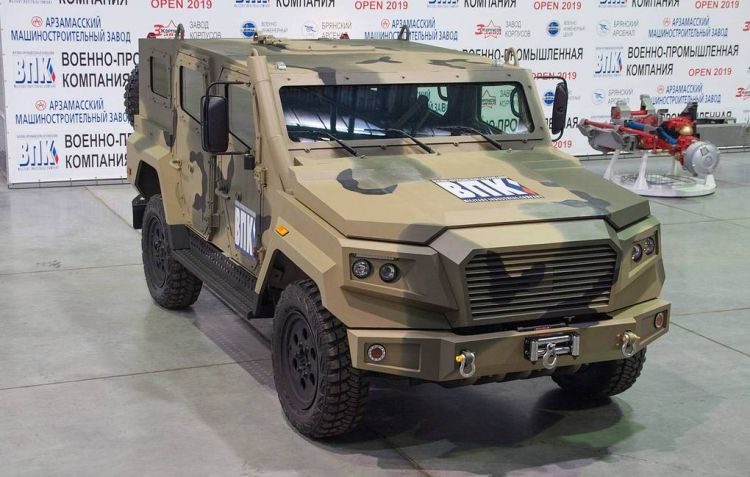 Russia develops new light armored vehicle for helicopter airlifting