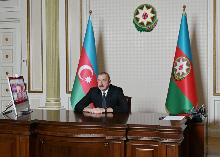 الرئيس: ستدافع أذربيجان عن سلامة اراضيها وتحمي حدودها الدولية