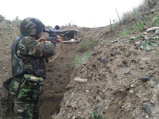Минобороны Азербайджана показало как были вчера и сегодня разгромлены базы врага - ВИДЕО