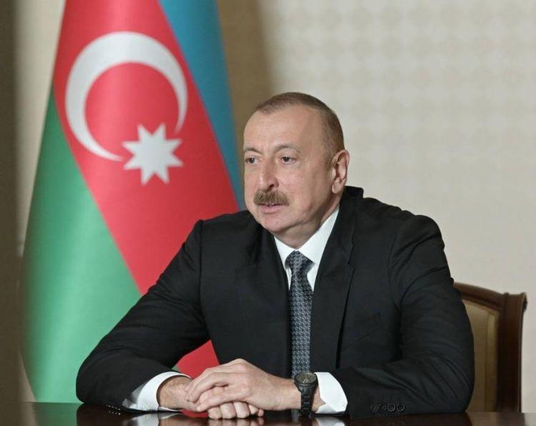Prezident yeni xarici işlər nazirini videoformatda qəbul edib ...