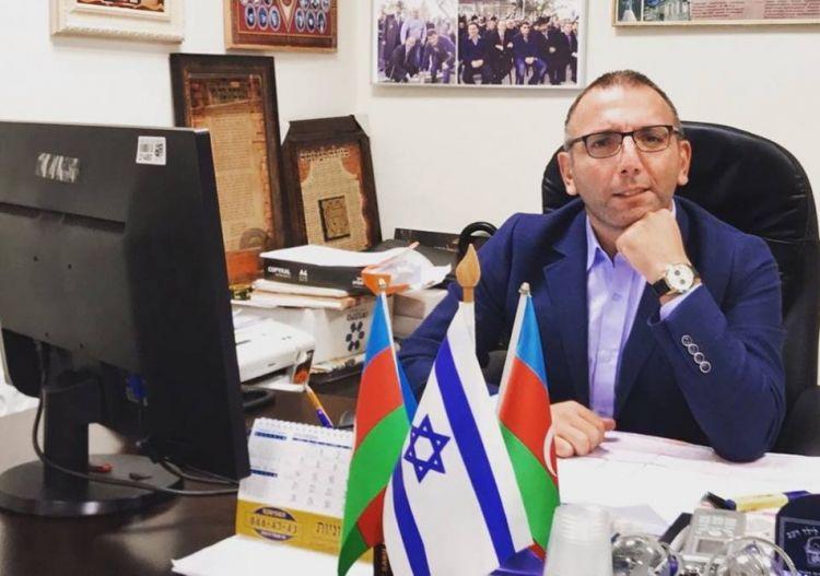 Израиль продолжает оставаться другом Азербайджана - беседа Д.Коркодинова с А.Гутом